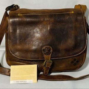 Patricia Nash Heritage London Saddle Crossbody Bag